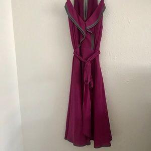 Anthropologie silk dress by Girls from Savoy